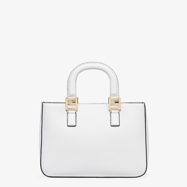 FENDI FF TOTE SMALL - Cuoio Romano leather bag - view 3 detail