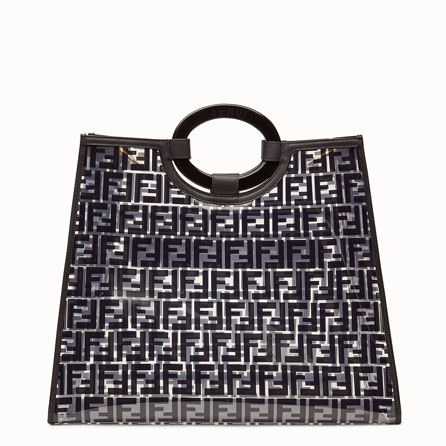 FENDI RUNAWAY SHOPPING - Sac shopping en PU - view 4 detail