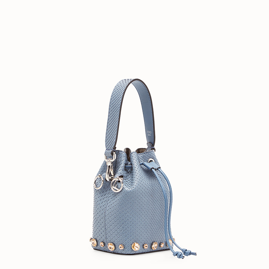 FENDI MON TRESOR - Pale blue python mini-bag - view 2 detail