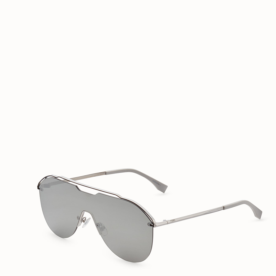 FENDI FENDI FANCY - Dark ruthenium sunglasses - view 2 detail