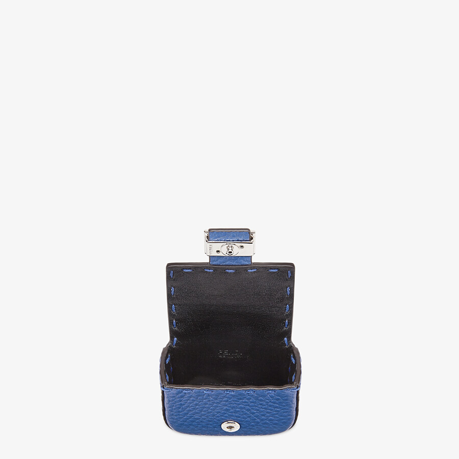 FENDI HEADPHONE HOLDER - Blue leather cover - view 3 detail