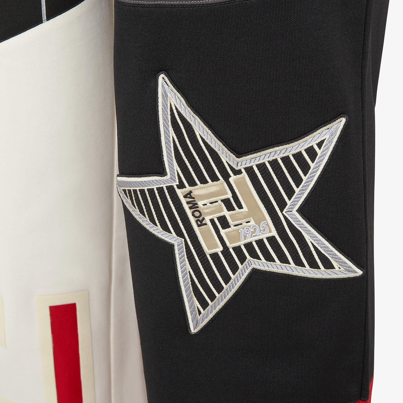 FENDI PANTS - Multicolor jersey pants - view 3 detail