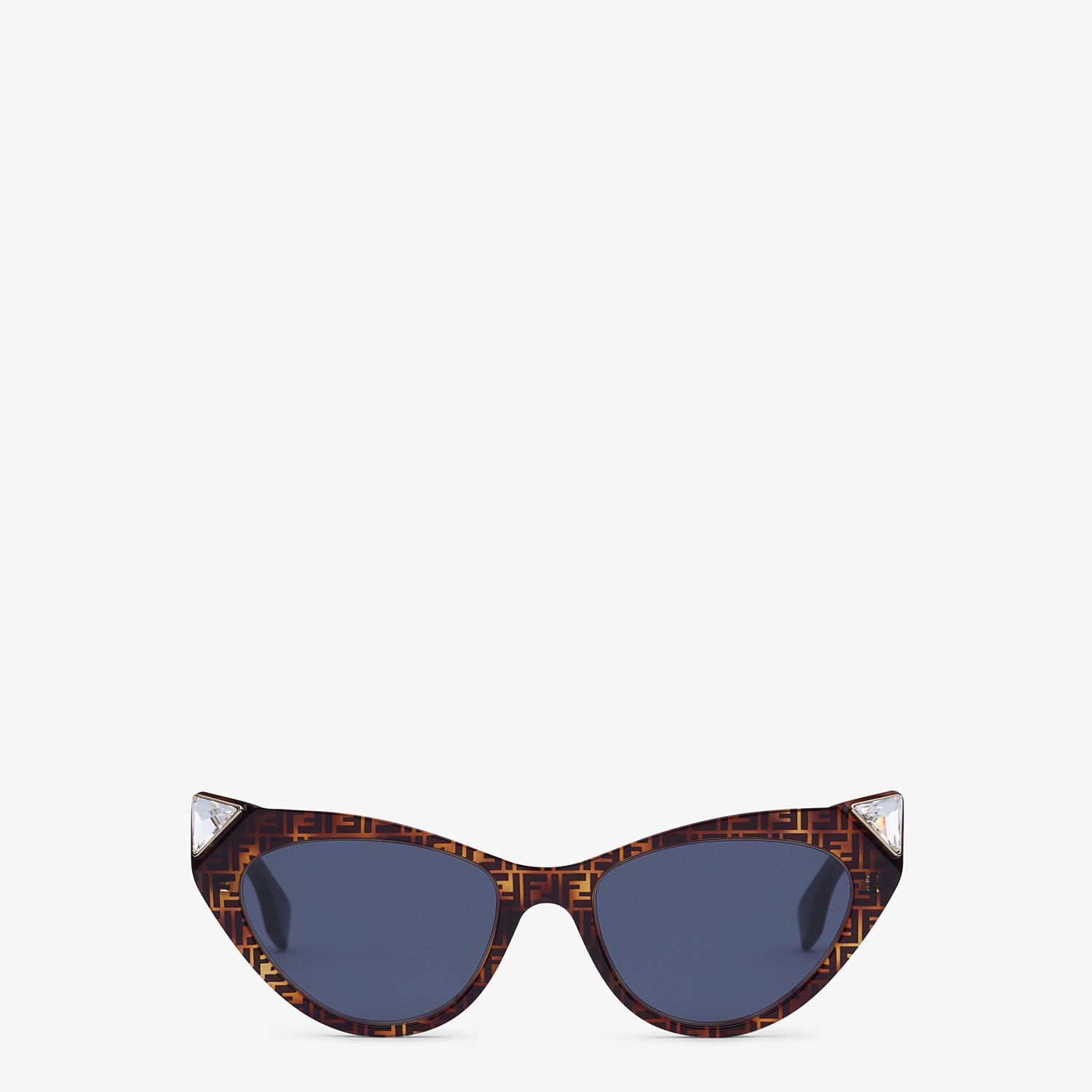 FENDI IRIDIA - Havana FF sunglasses - view 1 detail