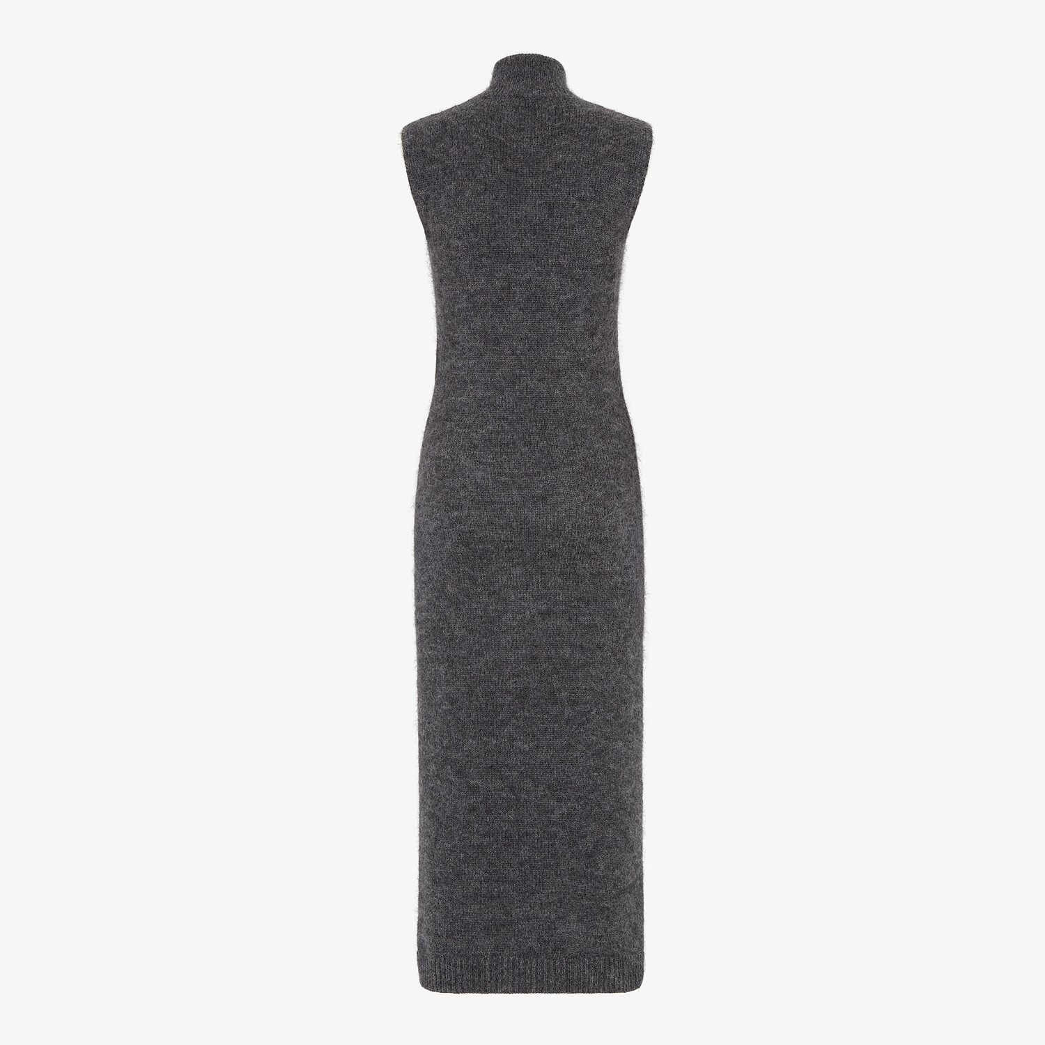 FENDI DRESS - Grey mohair and cashmere dress - view 2 detail