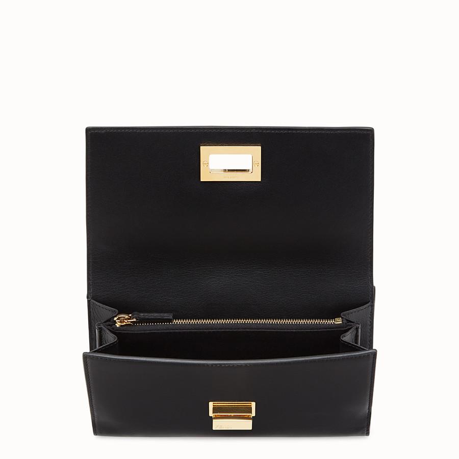 FENDI WALLET - in black leather - view 4 detail