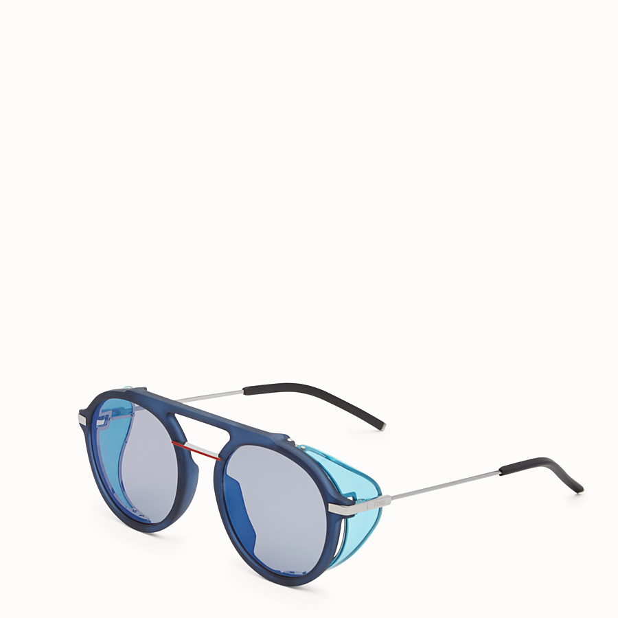 FENDI FENDI FANTASTIC - Blue sunglasses - view 2 detail