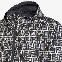 FENDI BLOUSON - Jacke aus Nylon mehrfarbig - view 3 thumbnail