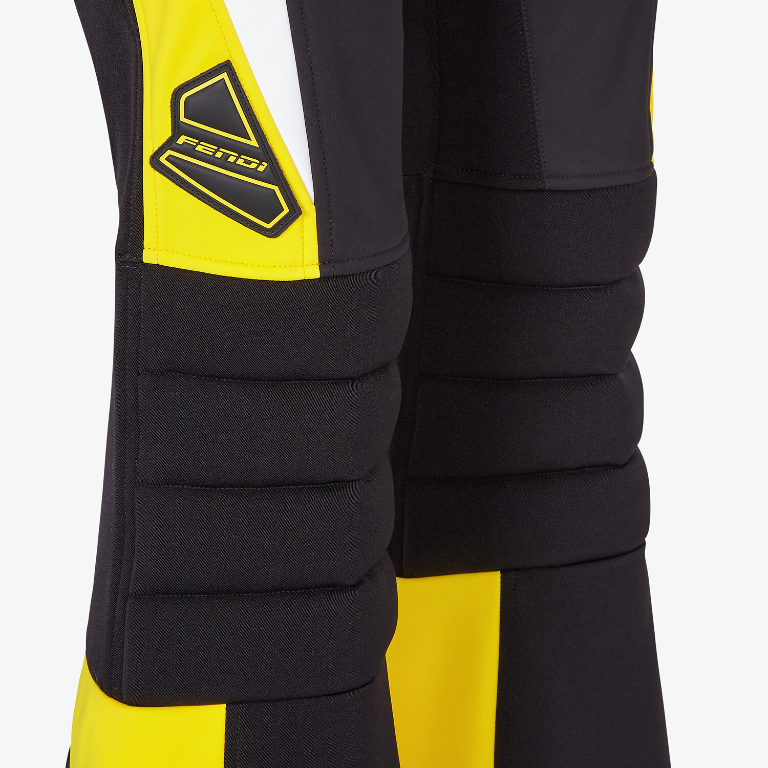 FENDI SKI SUIT - Black tech nylon ski suit - view 3 detail