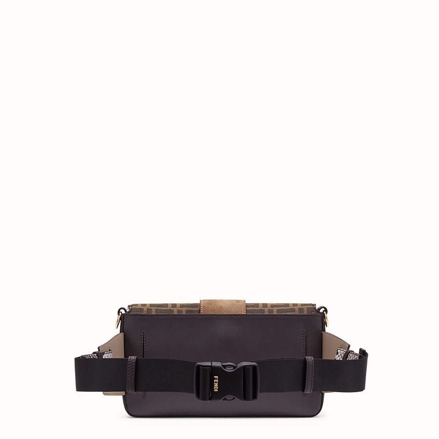 FENDI BAGUETTE - Brown calfskin bag - view 3 detail