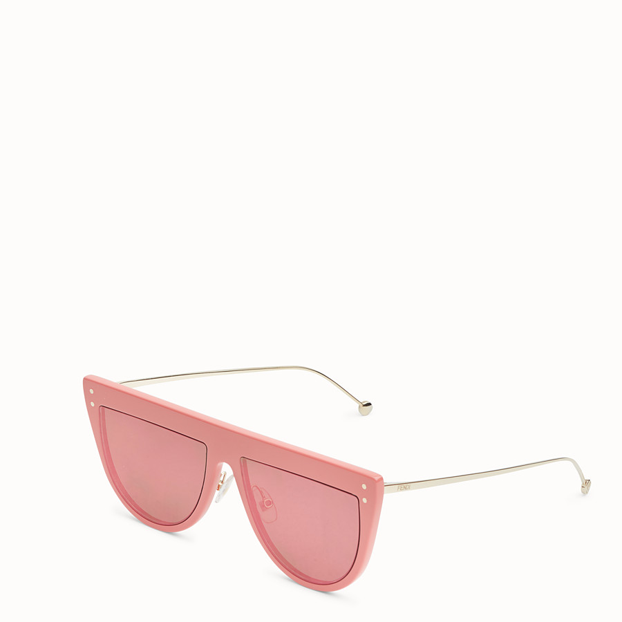 FENDI DEFENDER - Pink sunglasses - view 2 detail