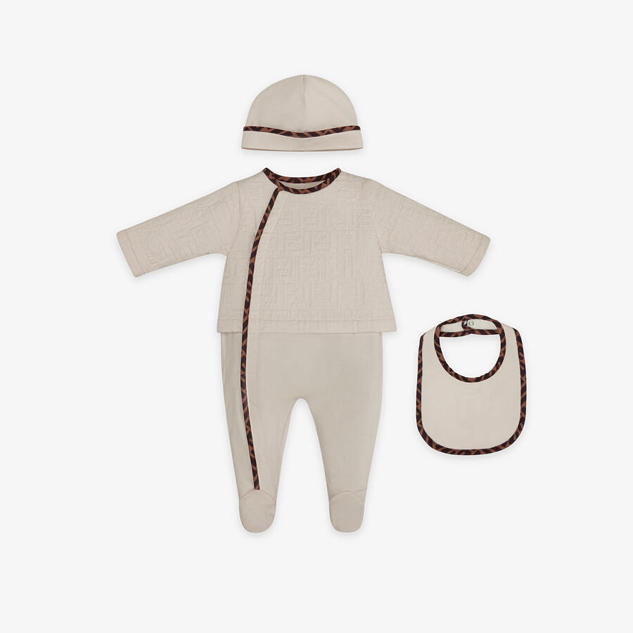 FENDI BABY KIT - Quilted cotton baby set - view 1 detail