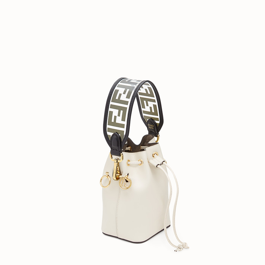 FENDI MINI STRAP YOU - Shoulder strap in transparent canvas - view 2 detail
