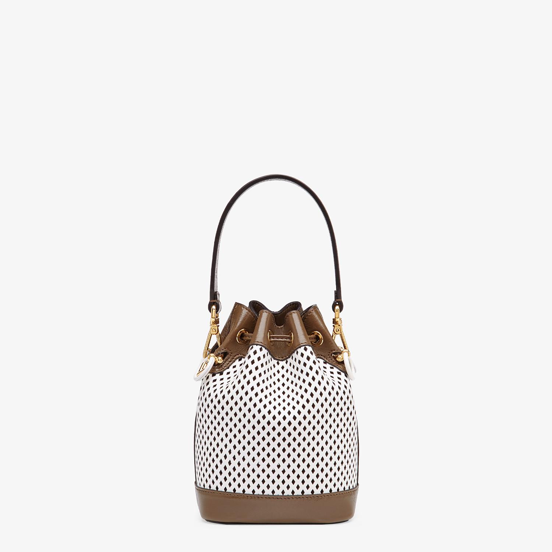 FENDI MON TRESOR - Minibag in pelle bianca - vista 4 dettaglio