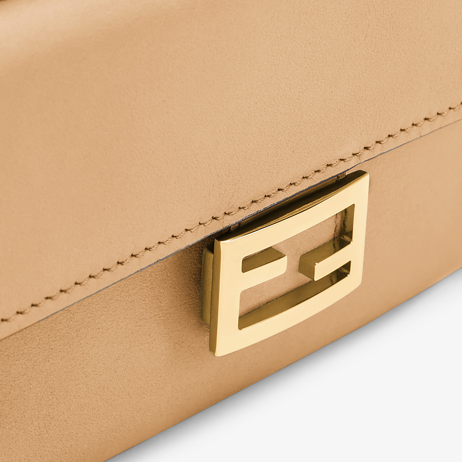 FENDI MINI FENDI CAM - Beige leather mini-bag - view 5 detail