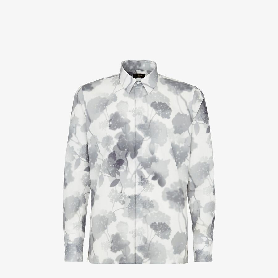 FENDI CAMISA - Camisa de algodón blanco - view 1 detail