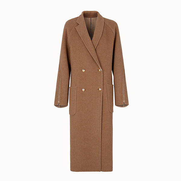 FENDI COAT - Beige camel coat - view 1 small thumbnail