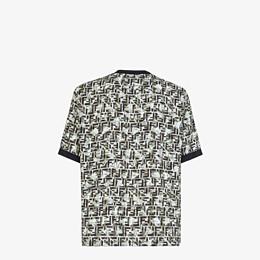 FENDI T-SHIRT - T-Shirt aus mehrfarbiger Viskose - view 2 thumbnail