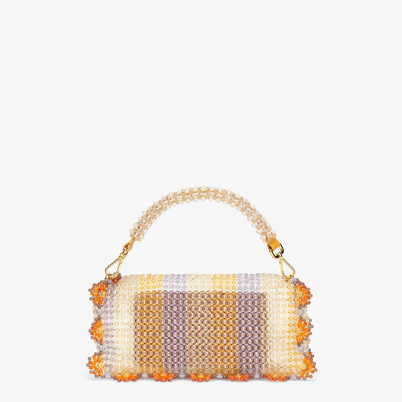 FENDI BAGUETTE - Bag with multicolour beads - view 4 detail