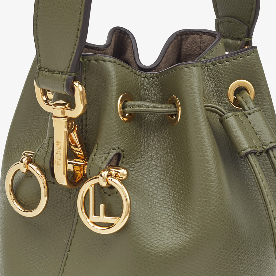 FENDI MON TRESOR - Green leather mini-bag - view 5 detail