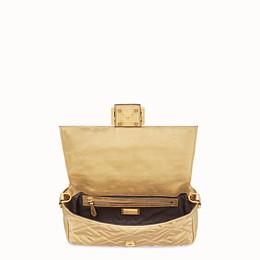 FENDI BAGUETTE - Golden leather bag - view 5 thumbnail