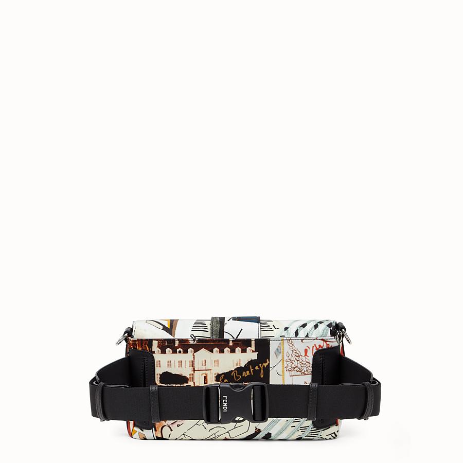 FENDI BAGUETTE - Tasche aus Nylon Mehrfarbig - view 4 detail
