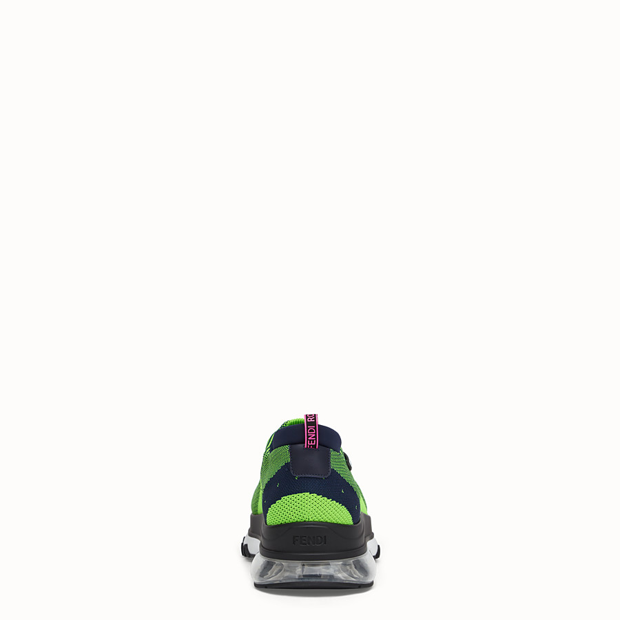 FENDI SNEAKER - Low top in maglia multicolor - vista 3 dettaglio