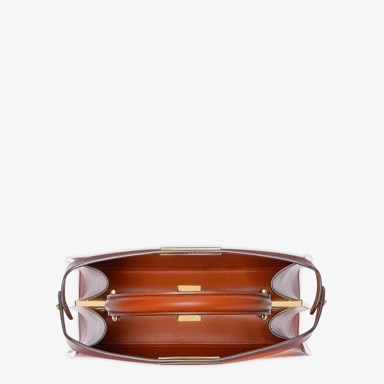 FENDI MITTELGROSSE PEEKABOO ISEEU - Tasche aus Leder in Braun - view 6 detail