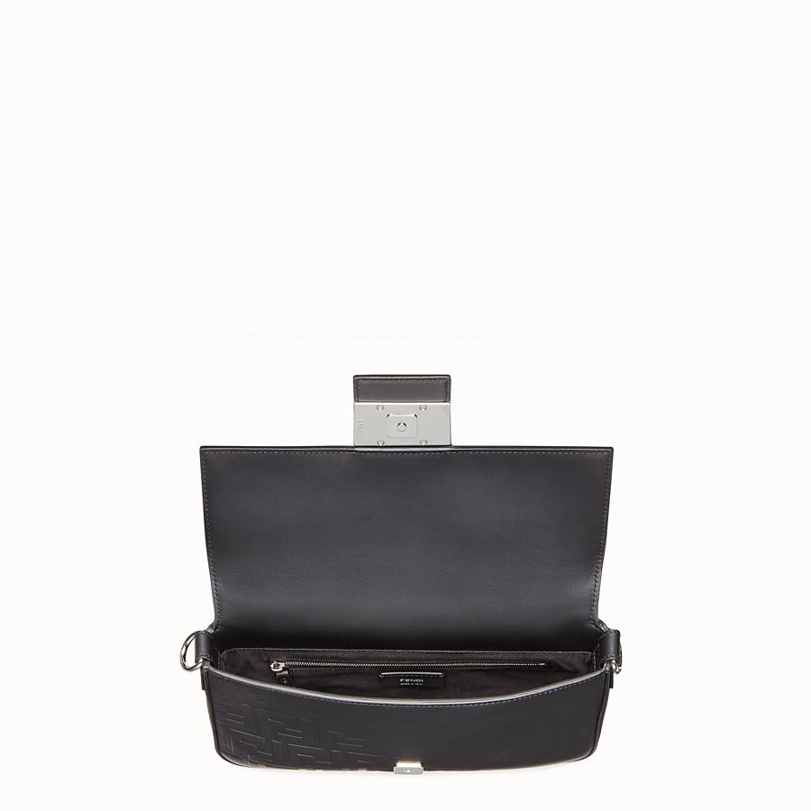 FENDI BAGUETTE - Black, calf leather bag - view 5 detail