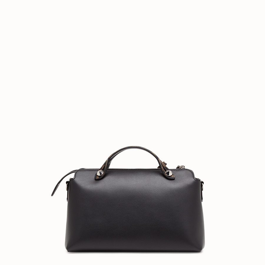 FENDI BY THE WAY REGULAR - Sac Boston en cuir noir - view 3 detail