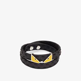 FENDI DOUBLE TOUR BRACELET - Multicolour leather bracelet - view 1 thumbnail