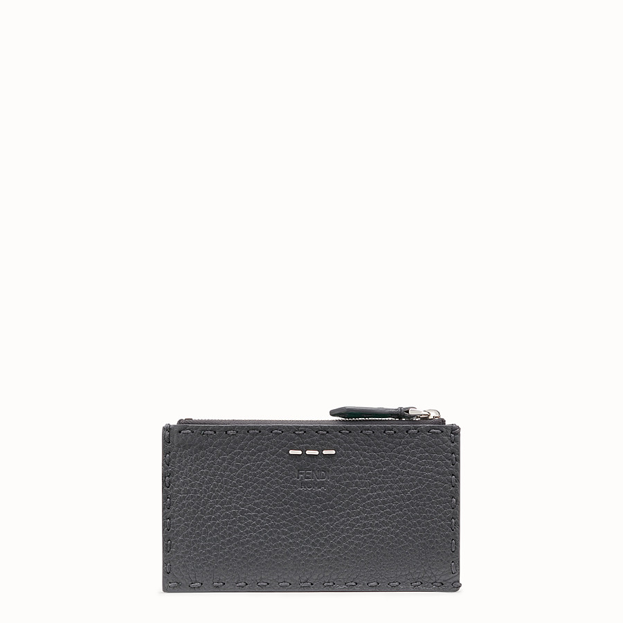 FENDI CARD HOLDER - Multicolour leather coin purse - view 1 detail