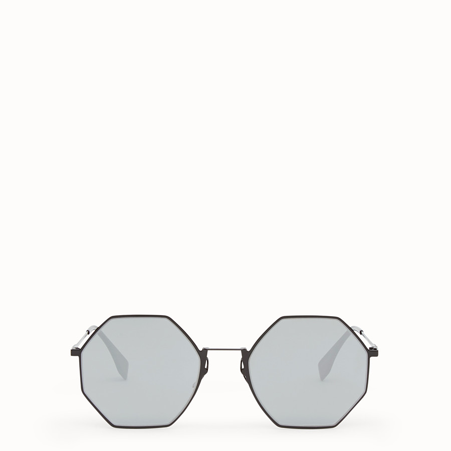 FENDI EYELINE - Black sunglasses - view 1 detail
