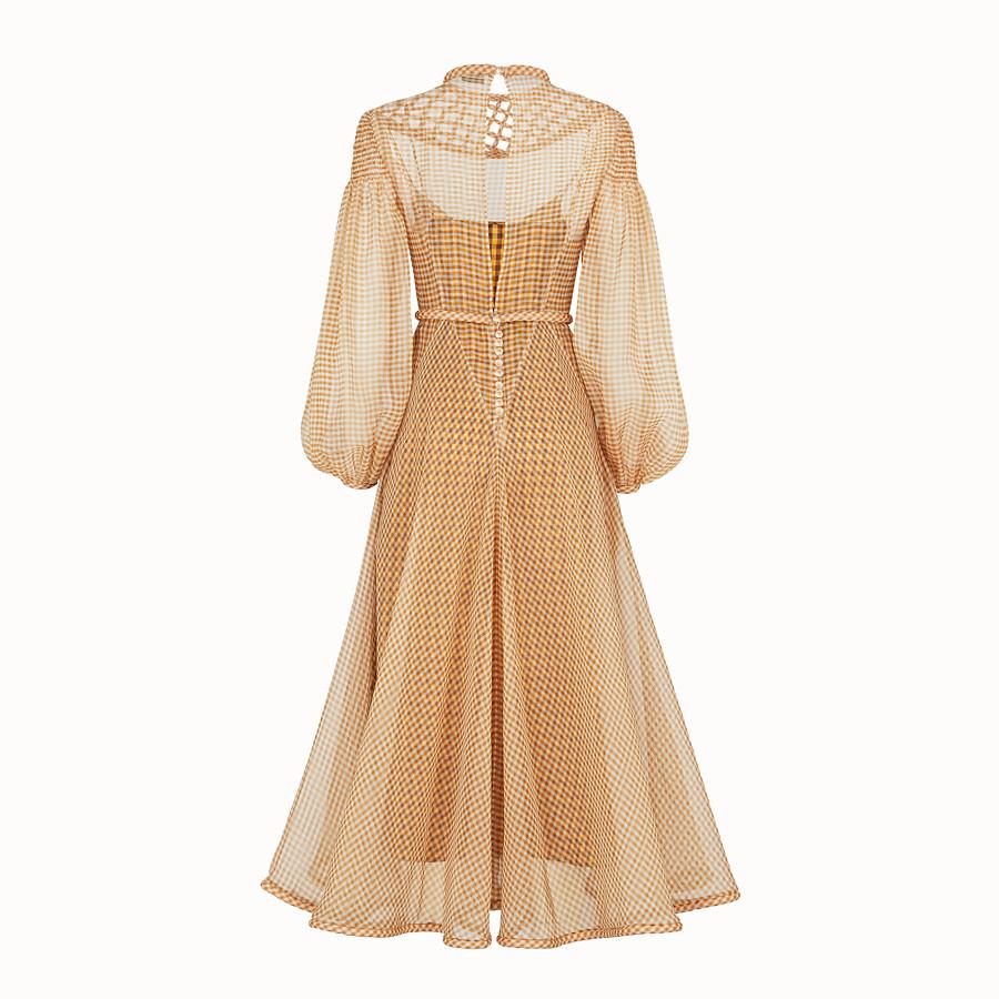 FENDI DRESS - Vichy organza dress - view 2 detail