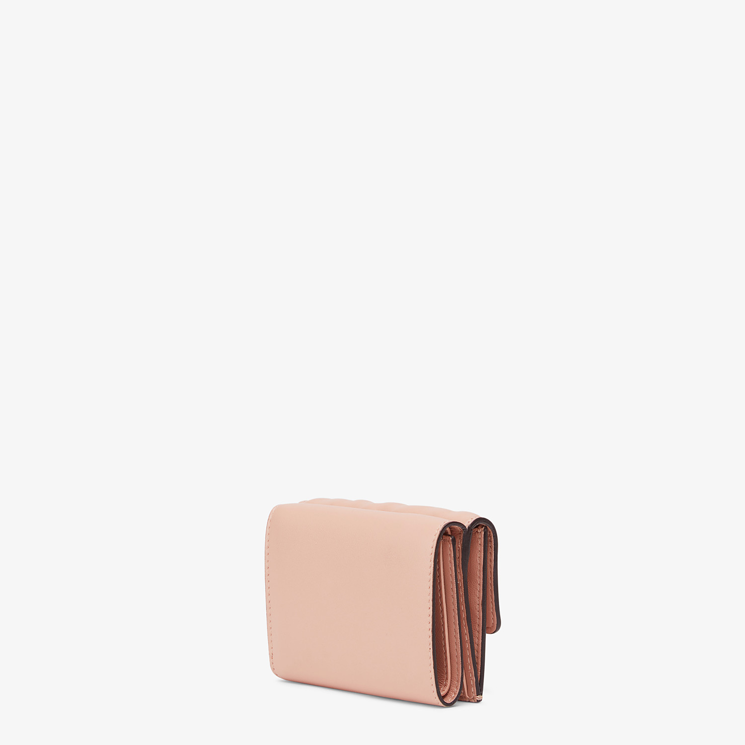 FENDI MICRO TRIFOLD - Pink nappa leather wallet - view 2 detail