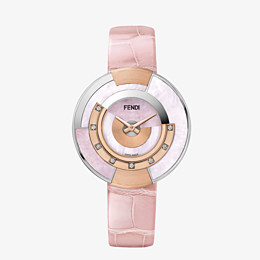 FENDI POLICROMIA - 33 mm - Watch with diamonds and natural stones - view 1 thumbnail