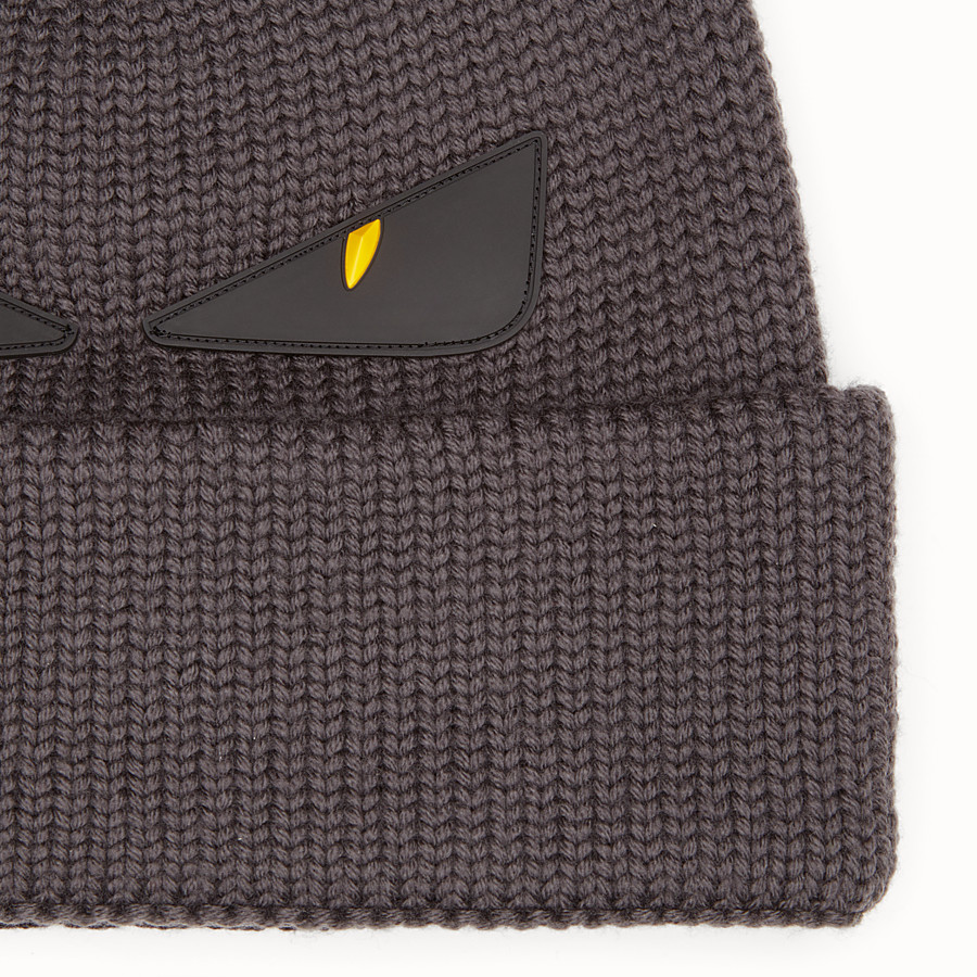 FENDI HAT - Multicolour wool hat - view 2 detail