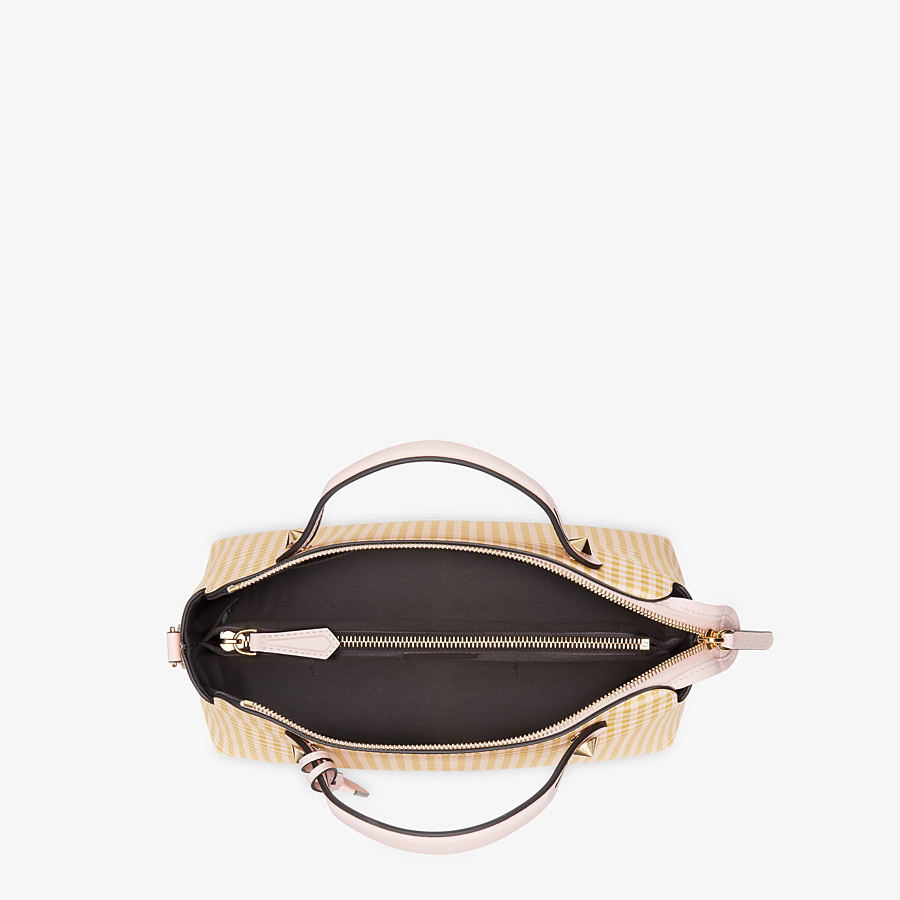 FENDI BY THE WAY MEDIUM - Pink leather Boston bag - view 4 detail