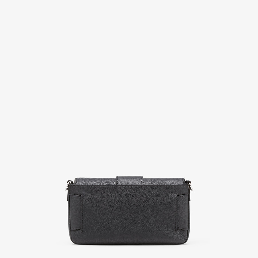 FENDI BAGUETTE - Black calf leather bag - view 4 detail