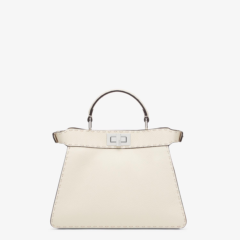FENDI PEEKABOO I SEEU SMALL - White Selleria bag - view 3 detail