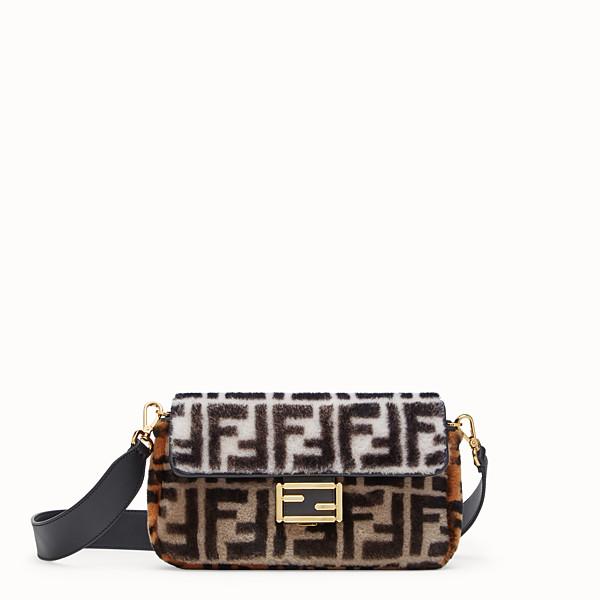 FENDI BAGUETTE - 拼色羊皮手袋 - view 1 小型縮圖