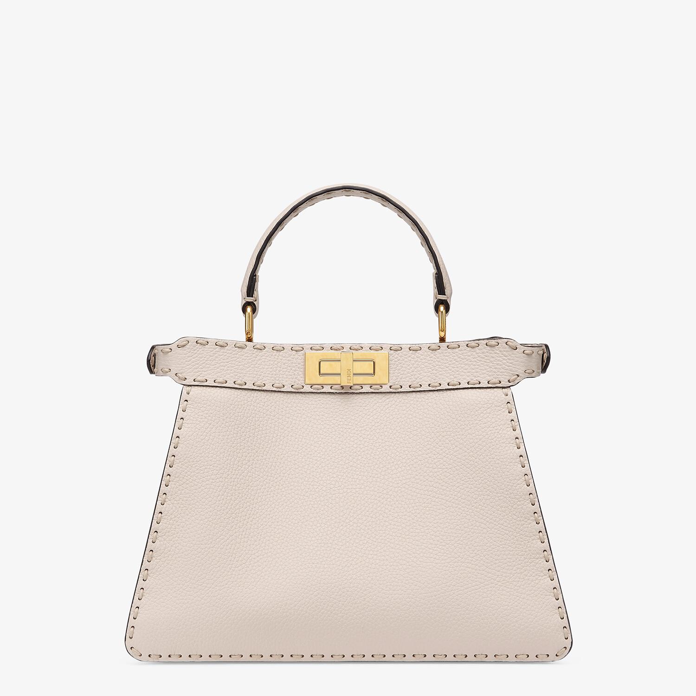 FENDI PEEKABOO ISEEU MEDIUM - White full grain leather bag - view 5 detail