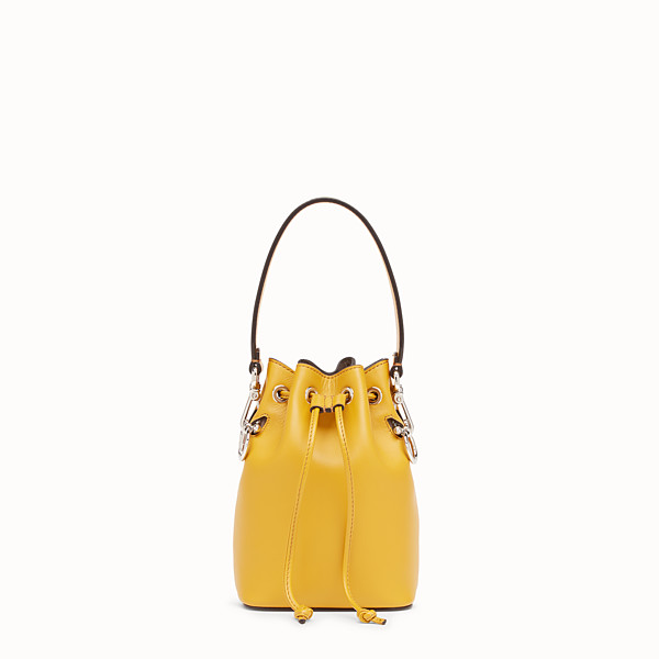 FENDI MON TRESOR - Yellow leather mini-bag - view 1 small thumbnail