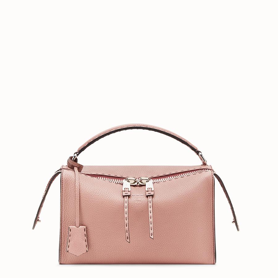 e88e8fadf6e9 Pink leather Boston bag - LEI SELLERIA BAG