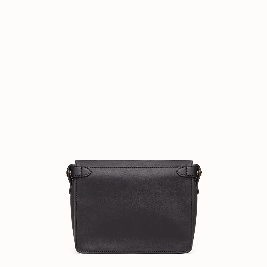 FENDI FENDI FLIP MINI - Black leather bag - view 4 detail