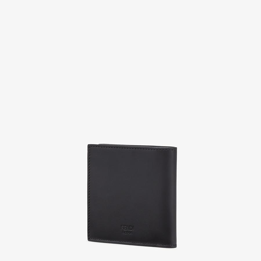 FENDI PORTEMONNAIE - Bifold-Portemonnaie aus Leder in Schwarz - view 2 detail