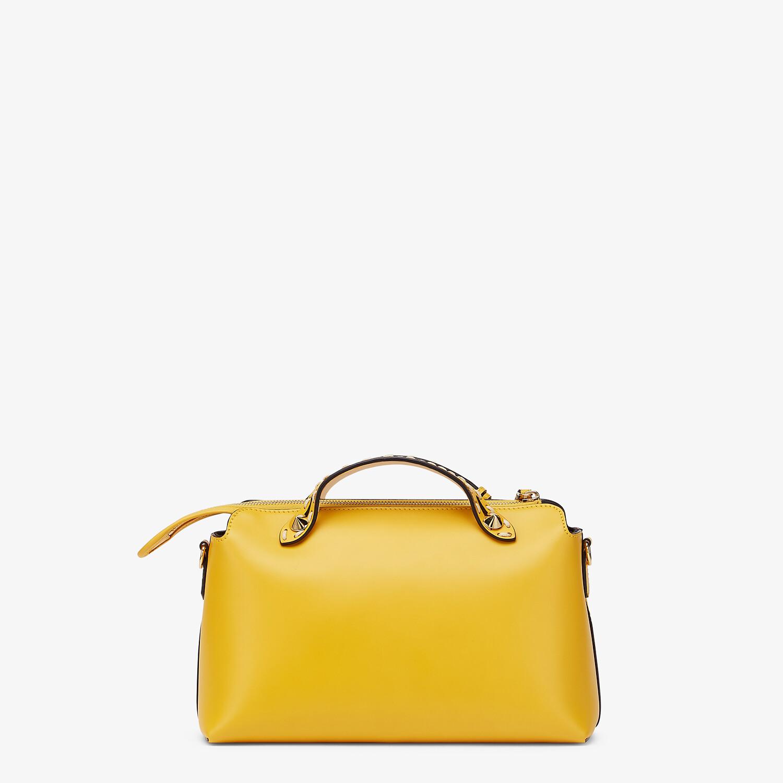 FENDI BY THE WAY MEDIUM - Yellow leather Boston bag - view 4 detail