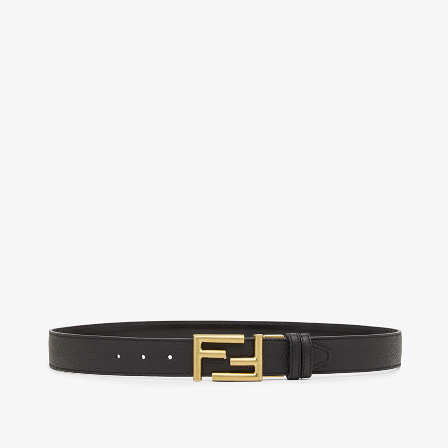 In Roman Leather And Black Leather Belt Fendi The men's fendi belt collection is the epitome of functional sophistication. fendi