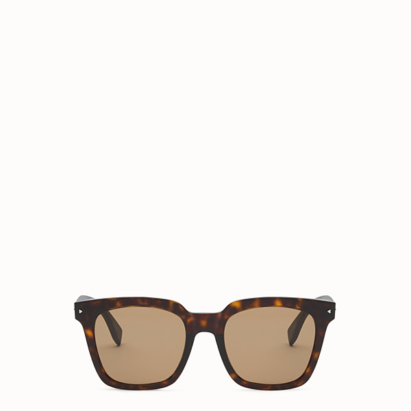 FENDI FENDI SUN FUN - Havana Asian fit sunglasses - view 1 small thumbnail