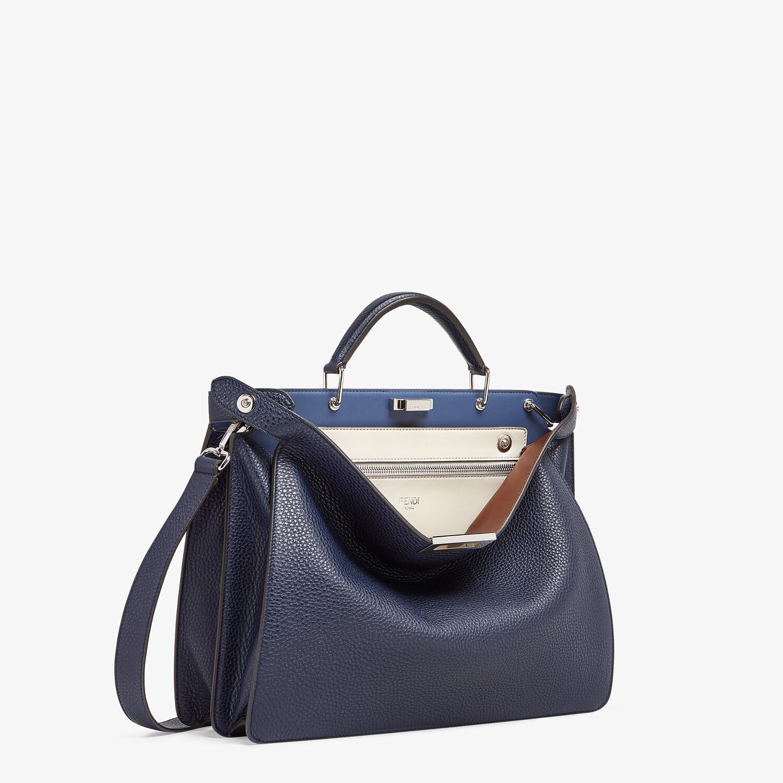 FENDI PEEKABOO ISEEU MEDIUM - Dark blue leather bag - view 3 detail