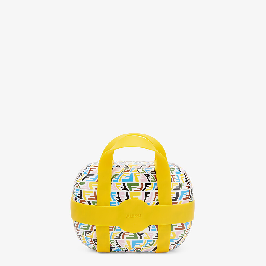 FENDI FOOD CARRIER - Multicolor fabric food carrier - view 3 detail